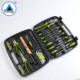 57PCS Multifunction Magnetism plastic box car tools