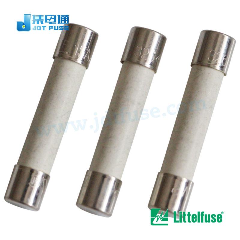 5x 021612.5MXP Fuse fuse quick blow ceramic 12.5A 250VAC 5x20mm brass 216