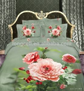 Chinese products wholesale 3d printing bed sheet set