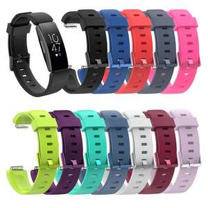New Arrival Replacement Band HR Strap Colorful Silicone Wristband For Fitbit Inspire Watchband Accessories