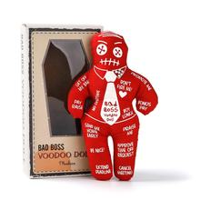 Mealivos Bad Boss Voodoo Doll stress relief reducer dool, best novelty gift for pink elephant exchange
