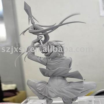 Resin model kit dalam Mainan, resin model mainan