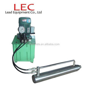 LEC Prestressing Construction Prestressed Cable Stressing Equipment