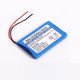 High quality rechargeable 3.7v 650mAh lithium li-ion battery pack 18650 battery dimensions rechargeable