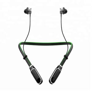 CE FCC ROHS Blue Tooth Earphone Neckband sports Style Wireless Bluetooth Headphone with Fast charger