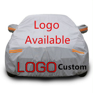 Folding silver avoid sun and rain protect parking Car Cover for Volkswagen
