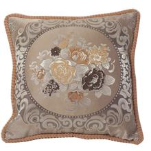 Cheersee brown gold flower Arabia decorative outdoor cushion for office chair lounge