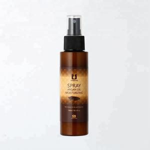 Factory OEM argan oil moisturizing hair spray for dry hair