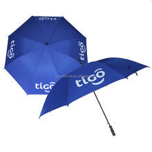 Tigo promotional plain umbrella golf