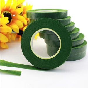 Green 1.2 cm Decorative PE Material Florist Accessories Flowers Making Floral Adhesive Tape