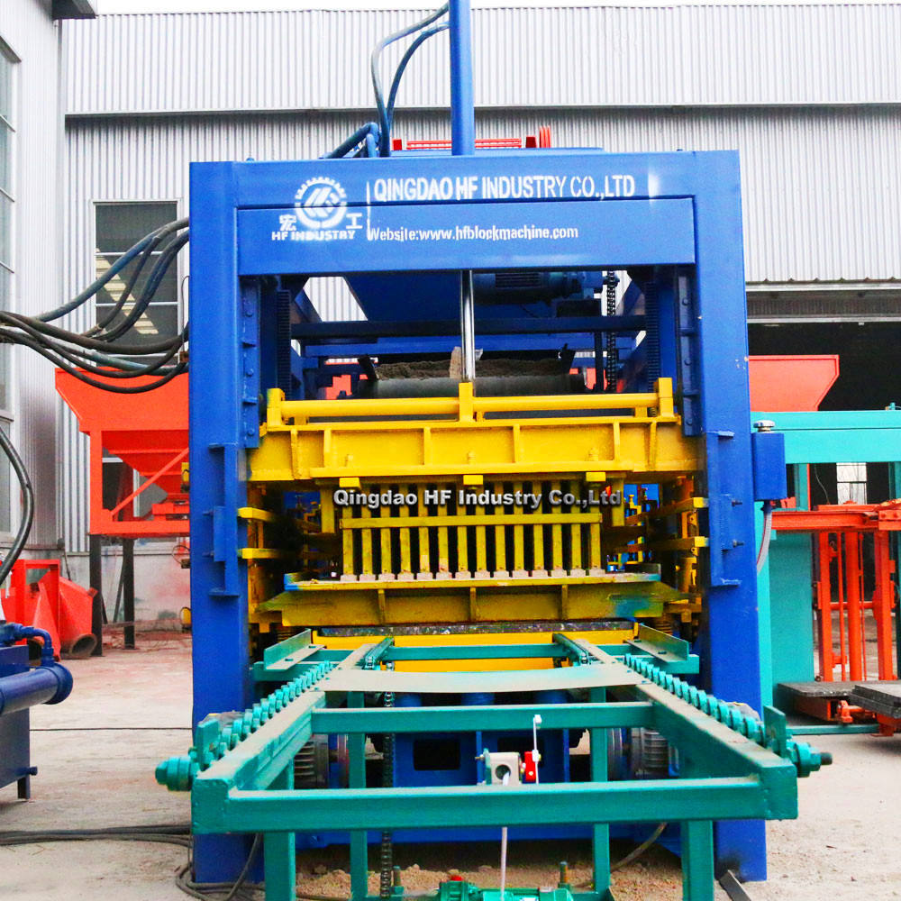 QT8-15 automatic hollow and paver block making machine industrial machinery equipments suppliers brick manufacturing plant