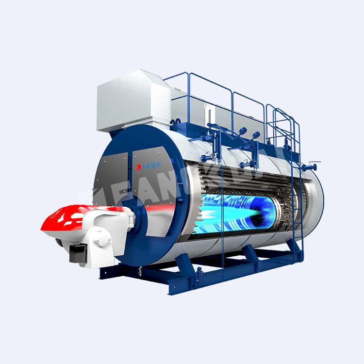 A-Class Boiler Manufacturer superior quality 2 ton outdoor gas oil fuels 2500l hot water for laundry factory