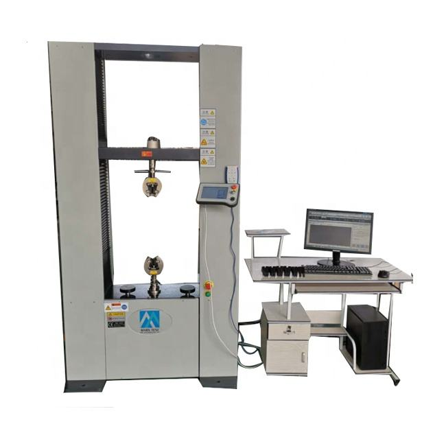 Digital Display and Computer Controlled Universal Testing Machine 100kn price Universal Strength Tester