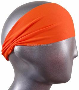Hot Sales New 10 Colors Solid Twist Sport Fashion Yoga Stretch Headband Women Turban Head wrap Hair Accessories