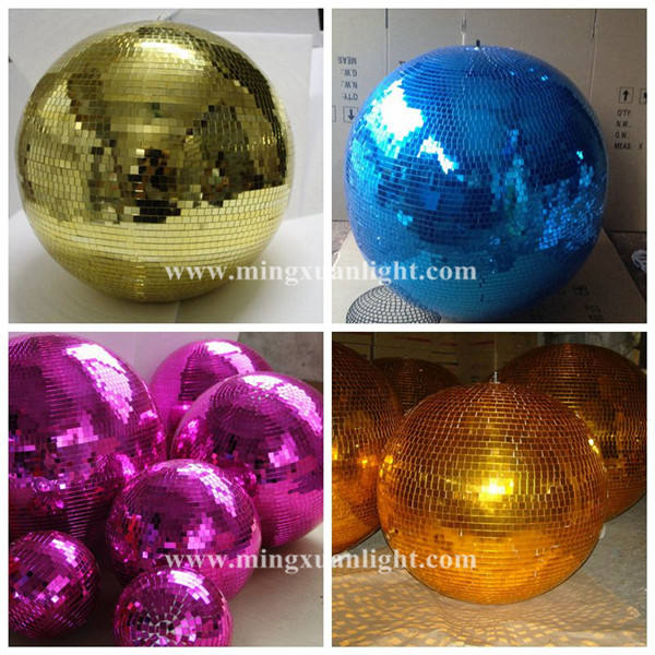 Beautiful magic led crystal gold disco ballgold disco ball