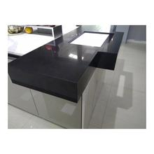 Classical Black Galaxy and Crystal Black Quartz stone Kitchen Countertops,Benchtops, Vanity Tops, Table Tops
