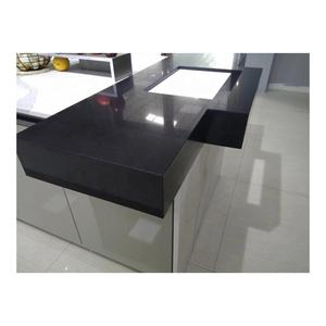 Classical Black Galaxy Crystal Black Cheap Corians Quartz Stone Kitchen Countertops, Benchtops, Vanity Tops, Table Tops
