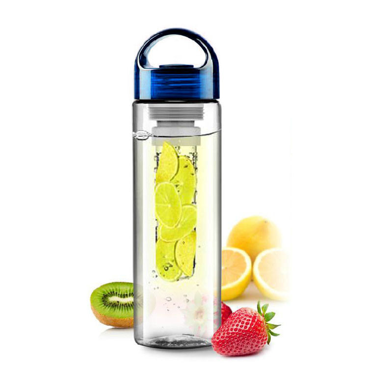 China bpa free promotional bottle, Plastic sport Fruit Fusion Infuser Water Bottle