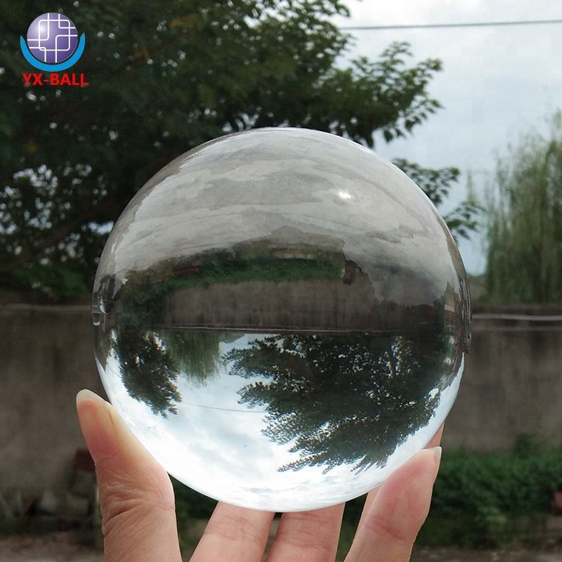 Hot koop 18mm 20mm 22mm 30mm Clear solid Glas kristal ballen voor decoratie