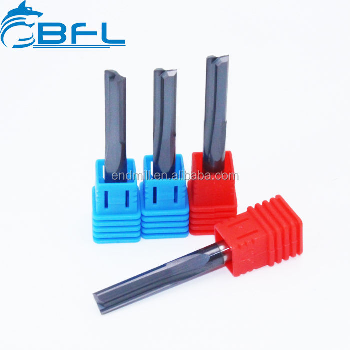 BFL CNC Carbide 2 Flute End Mill Straight Cutter Phay Bit Cho Gỗ