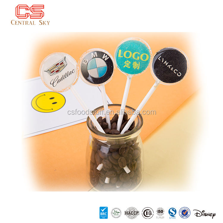 Custom Food & Candy Gifts Promotional lollipop candy