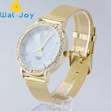 WJ-2747 Alibaba Hot Sale Watch China Factory Direct Wholesale Alloy Watch Luxury Spot Drill Women Wristwatch