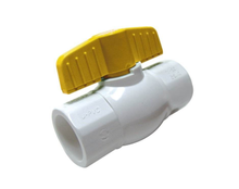 2019 china supplier manufacturing new handle pvc ball valve price list