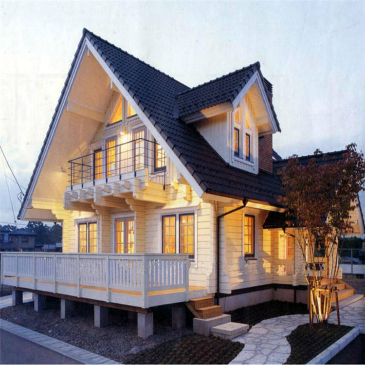 prefabricated various architectural style light steel villa