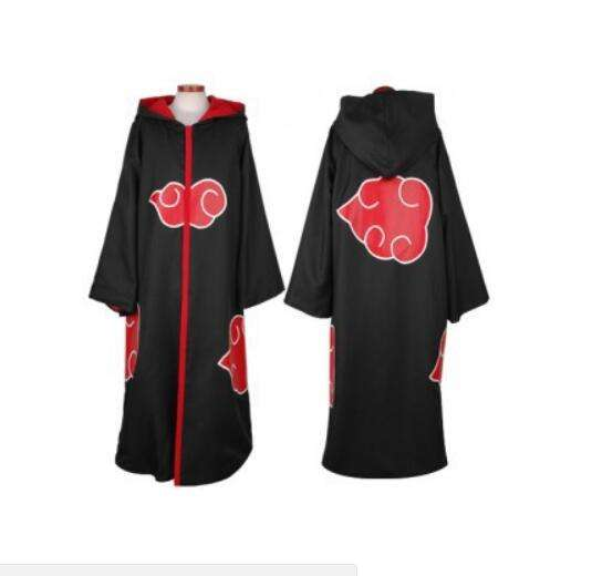 Costume de cosplay <span class=keywords><strong>naruto</strong></span> <span class=keywords><strong>naruto</strong></span>, costume de sasuke uchiha itachi, vêtements chauds anime <span class=keywords><strong>akatsuki</strong></span>, cape de cosplay,