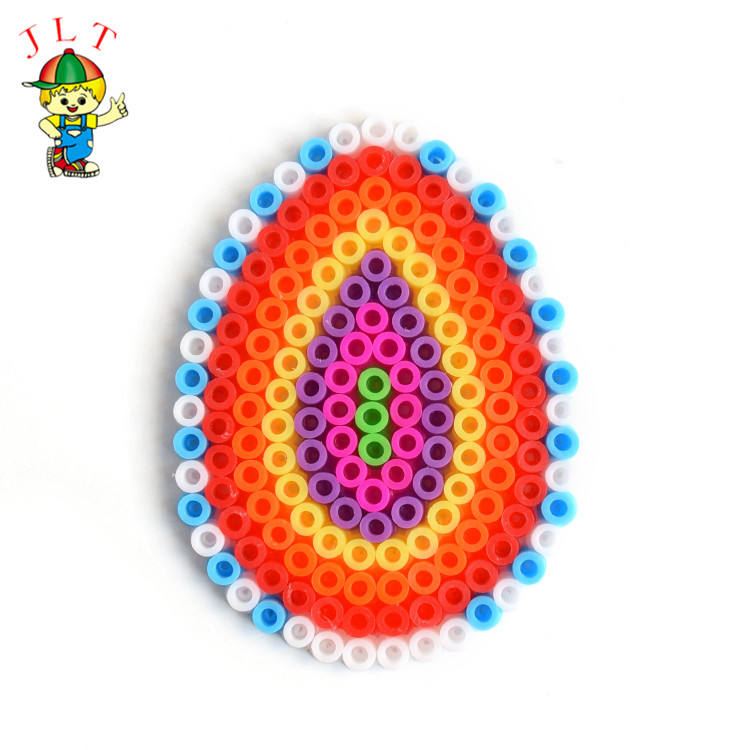 Custom Plastic games kids educational toys egg hame beads