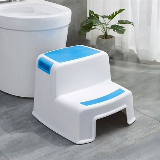 Child step stool plastic stacking one two step potty stool