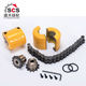 C45 chain coupling sprockets and chain from China SCS sprocket factory for sale
