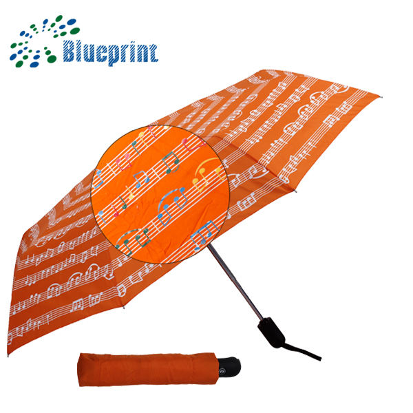 windproof magic automatic open close color/colour changing umbrella printing souvenir sleeve