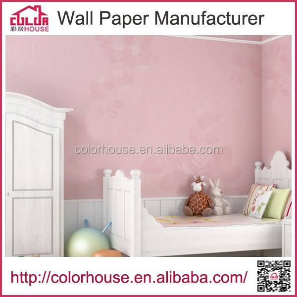 جدار الديكورات المنزلية نمط زهرة تنقش الجدران البلاستيكية خلفية