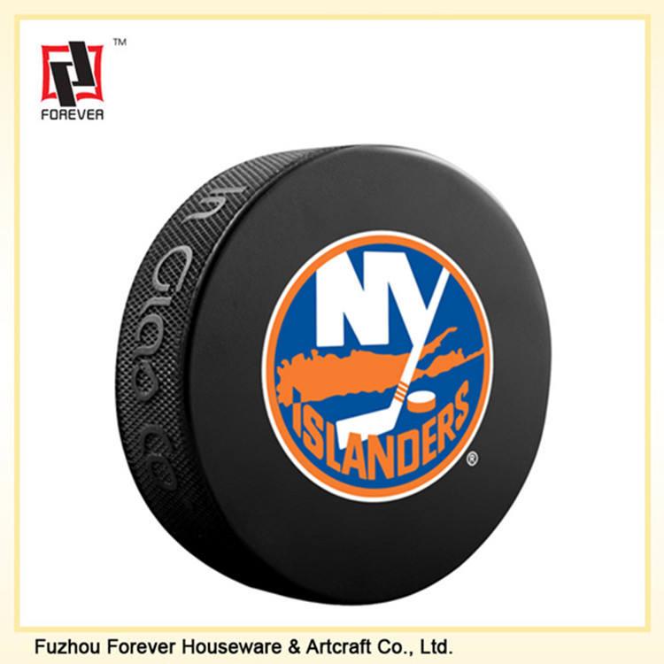 in gomma personalizzato economici mini disco da hockey regalo di ghiaccio