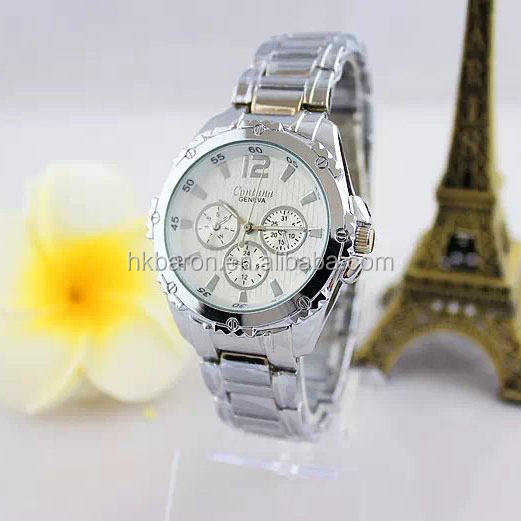Silver color metal 질 watches women 패션 trendy in china 시장