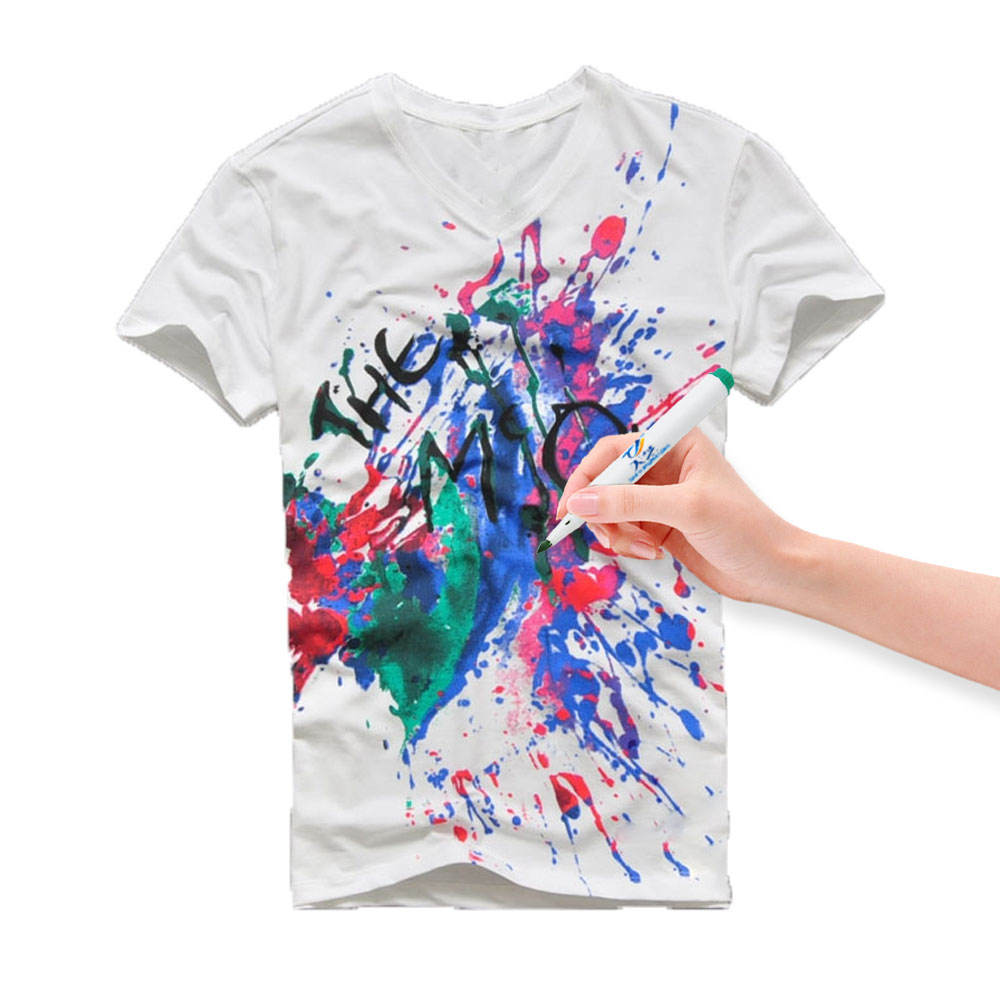 OEM colorful T-shirt markerS pen waterproof fabric marker pens Perfect for DIY Writing on Clothing