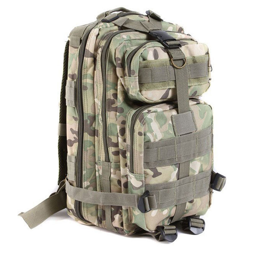 Camouflage Waterproof nylon army tactical molle military backpack outdoor hiking bag