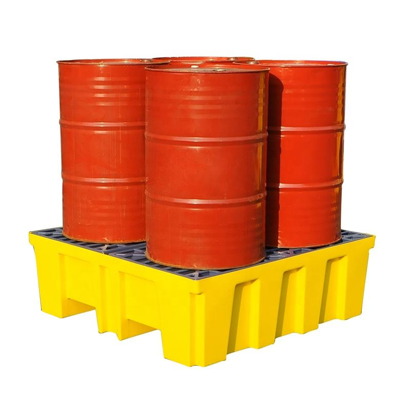 4 drum spill pallet spill containment pallets