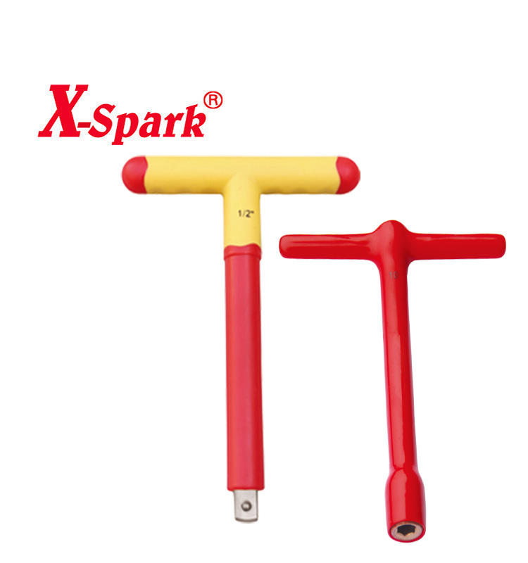 Factory Price 1000v VDE Insulated Sliding T Wrench Handle Wrench