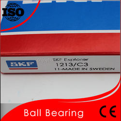 Low Friction SKF 1213/C3 Self-aligning Ball Bearing 1213 Sweden SKF High Quality