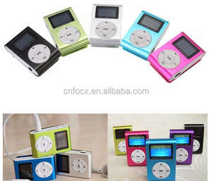 Mini USB Clip MP3/Music Media Player/Màn Hình LCD Clip MP3