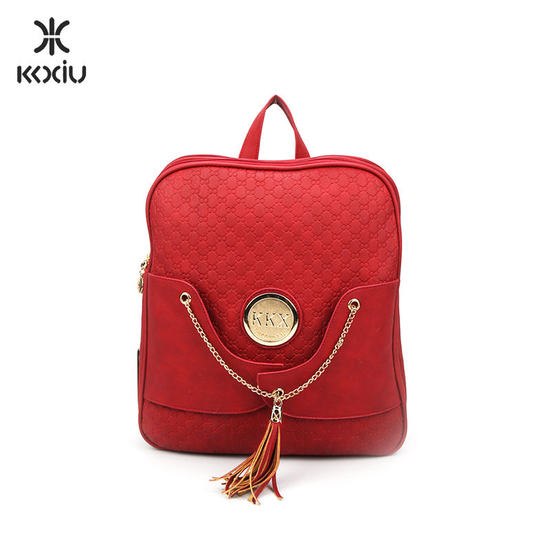 Factory Sale Customized Promotional Cute Stylish Brand Name Bag Backpack Made In China