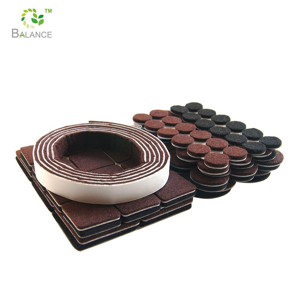 1'' Diameter Premium Felt Furniture Pads Furniture Feet, Protect Your Hardwood Flooring