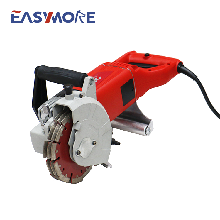 Easymore 2400W wand Cutter & Notcherelectric Ziegel Beton Wand Chaser maschine