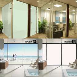 Bullet proof PDLC film electrically switchable smart glass film