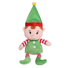 Christmas elf baby gifts custom made plush toy