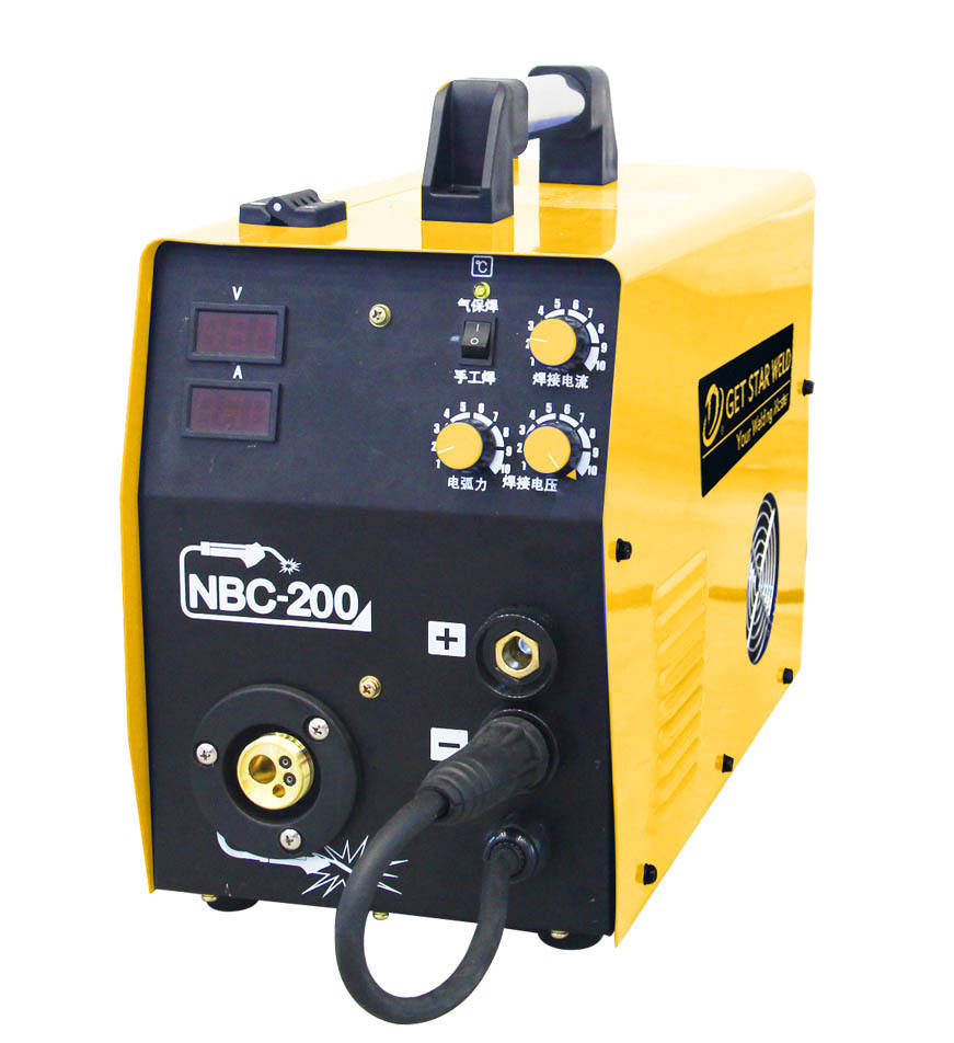 Get Star Weld NBC-200Y IGBT 200 amps inverter mig gas-shielded co2 mig welding machine