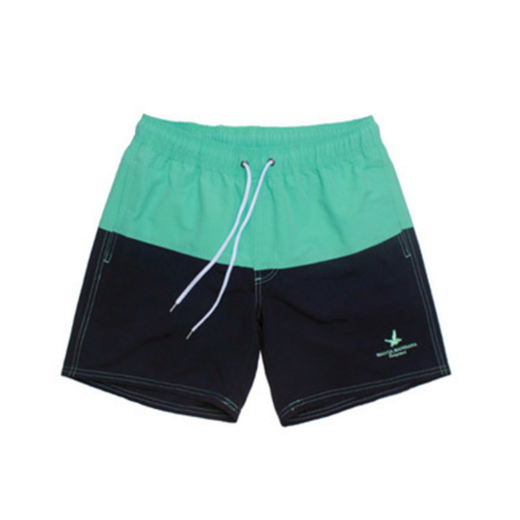 Men's Polyester Board Shorts Summer Beach Surf Pants Quick Drying Swimwear Male Swim Shorts With Liner Swimming Trunks