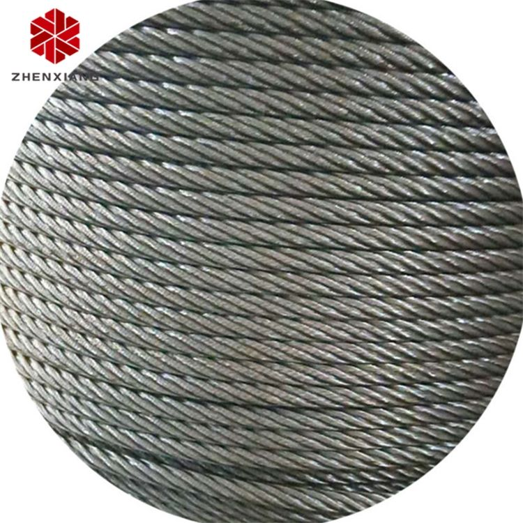 Zhen Xiang used 6x19 fc galvanized steel wire rope per ton